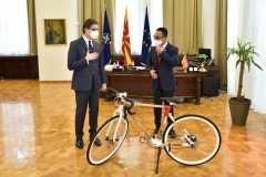 Dubes RI serahkan surat kepercayaan kepada Presiden Makedonia Utara